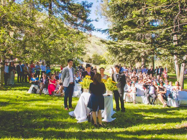 El matrimonio de Benjamín y Paloma en El Monte, Talagante 16