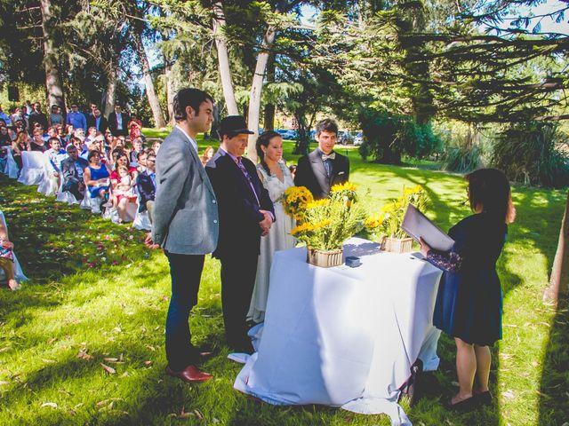 El matrimonio de Benjamín y Paloma en El Monte, Talagante 19