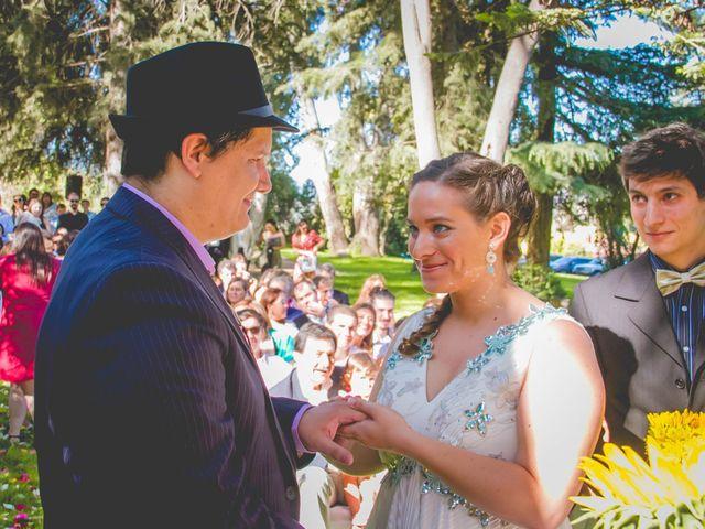 El matrimonio de Benjamín y Paloma en El Monte, Talagante 20