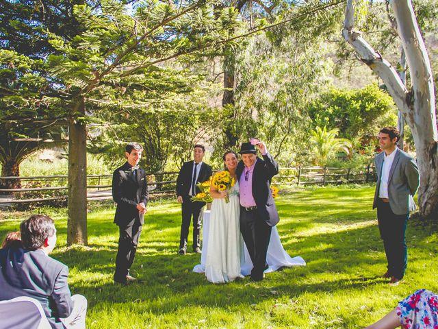El matrimonio de Benjamín y Paloma en El Monte, Talagante 21