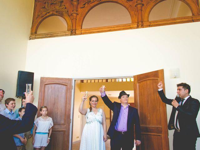 El matrimonio de Benjamín y Paloma en El Monte, Talagante 33