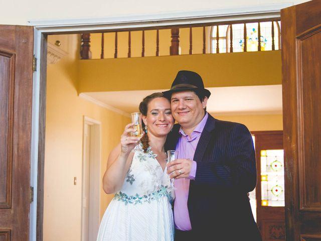 El matrimonio de Benjamín y Paloma en El Monte, Talagante 34
