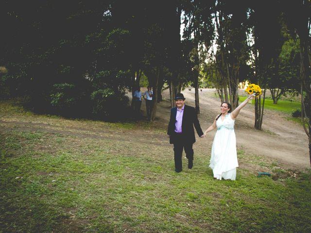 El matrimonio de Benjamín y Paloma en El Monte, Talagante 1