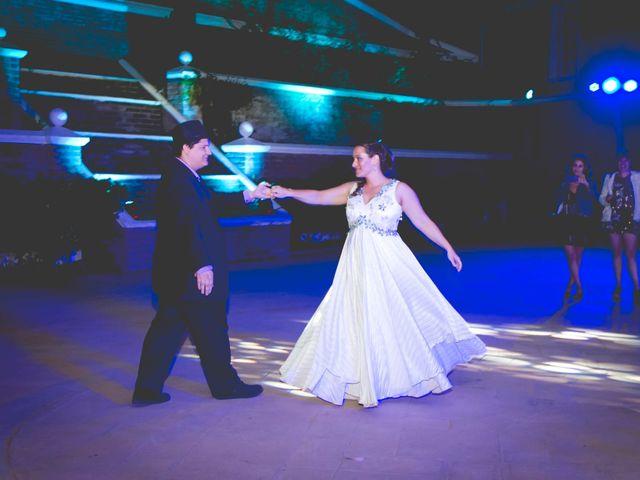El matrimonio de Benjamín y Paloma en El Monte, Talagante 46