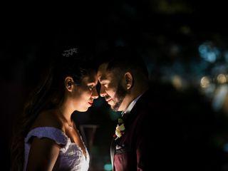 El matrimonio de Bárbara y Antonio