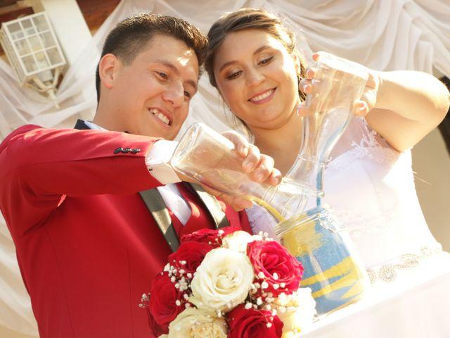 El matrimonio de Mishelle y Braulio