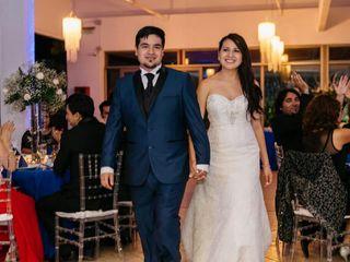 El matrimonio de Mariel y Andy
