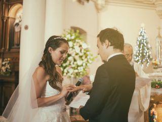 El matrimonio de Felipe y María Pía  1