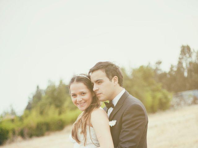 El matrimonio de Felipe y María Pía