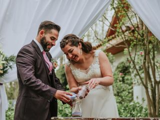 El matrimonio de Gabriela y Leonardo