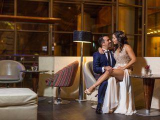 El matrimonio de Angelina y Rodrigo