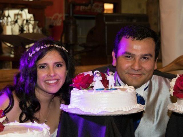 El matrimonio de César y Bárbara
