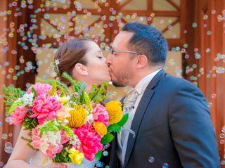 El matrimonio de Victoria y Rodrigo 3
