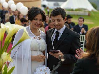 El matrimonio de Yohana y Roberto
