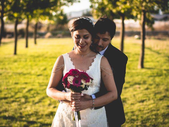 El matrimonio de Mariana y Iván
