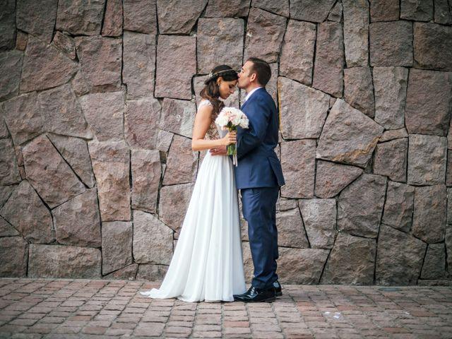 El matrimonio de Karen y Martín
