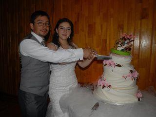 El matrimonio de Evelyn y Dennis