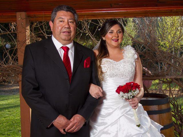 El matrimonio de Juan y Francisca en Pirque, Cordillera 8