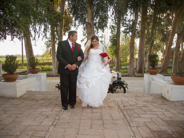El matrimonio de Juan y Francisca en Pirque, Cordillera 14