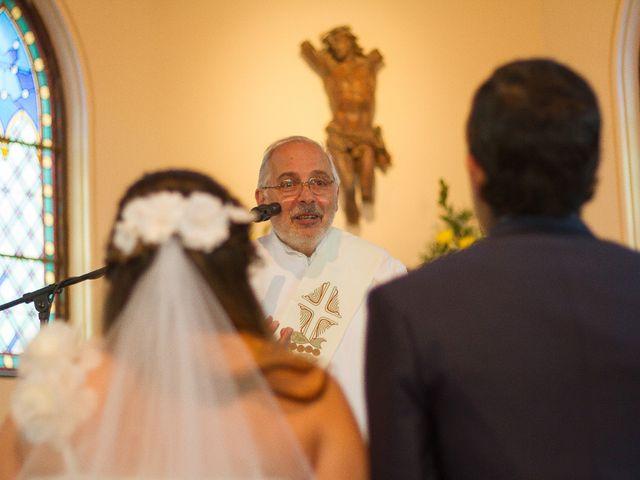 El matrimonio de Juan y Francisca en Pirque, Cordillera 19