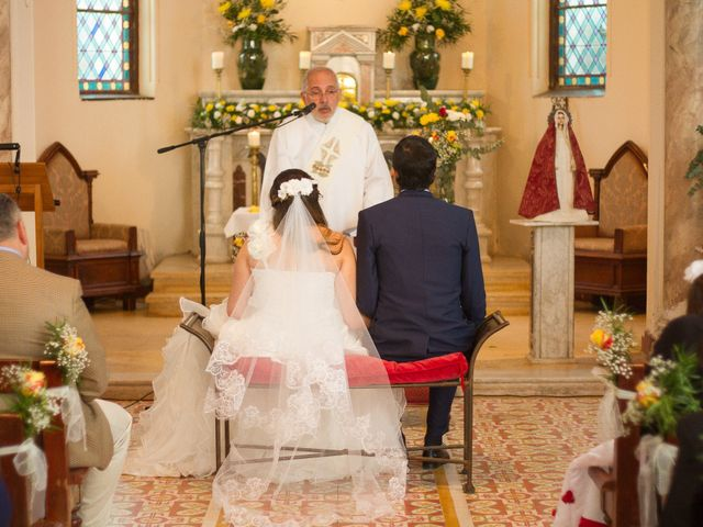 El matrimonio de Juan y Francisca en Pirque, Cordillera 21