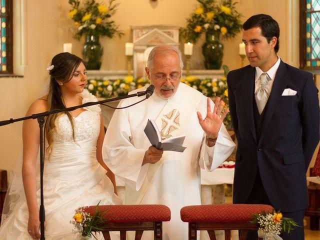 El matrimonio de Juan y Francisca en Pirque, Cordillera 22