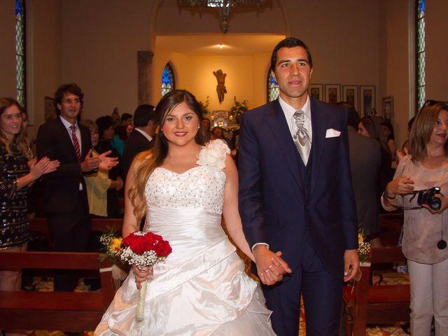 El matrimonio de Juan y Francisca en Pirque, Cordillera 34