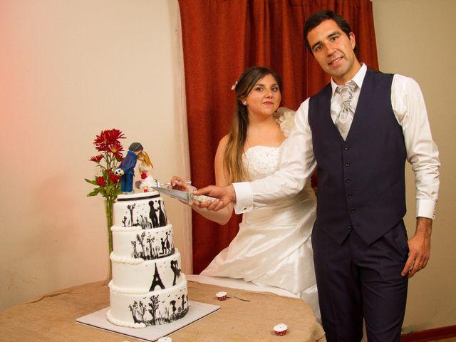 El matrimonio de Juan y Francisca en Pirque, Cordillera 79