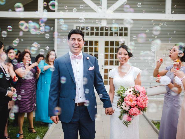El matrimonio de Francisca  y Jonathan