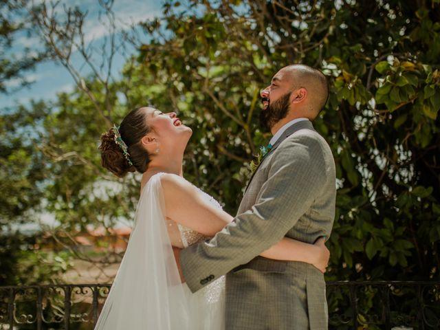 El matrimonio de Catalina y Javier
