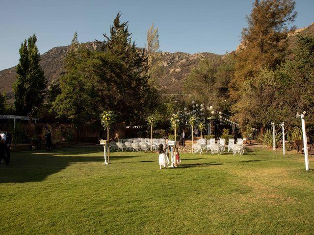 El matrimonio de José y Constanza en San José de Maipo, Cordillera 21