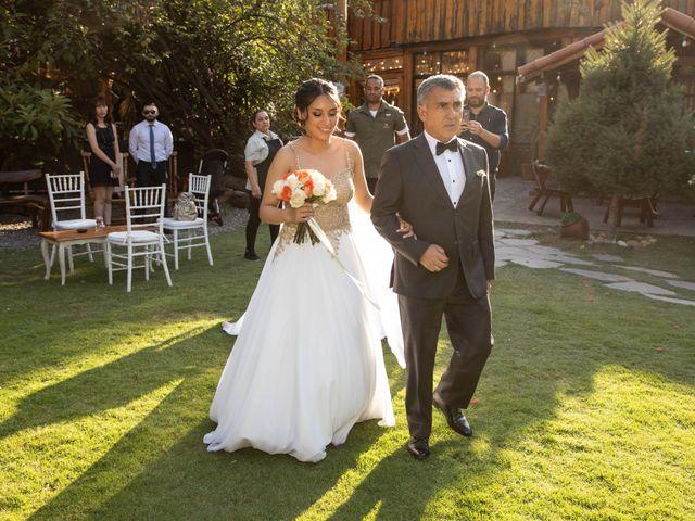 El matrimonio de José y Constanza en San José de Maipo, Cordillera 22