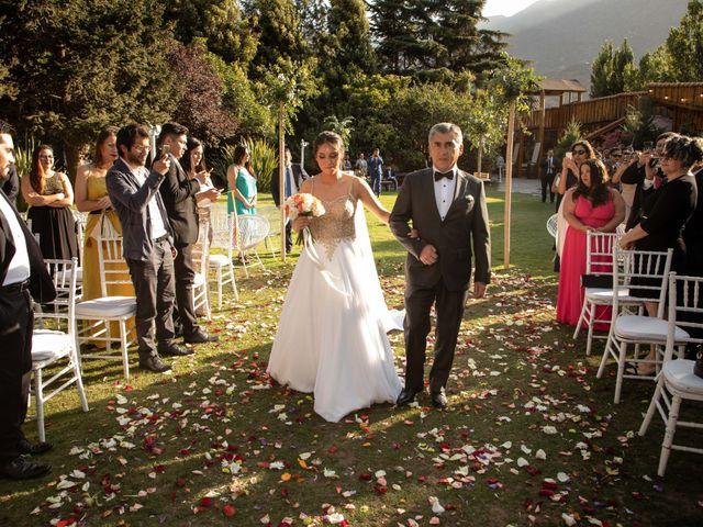 El matrimonio de José y Constanza en San José de Maipo, Cordillera 25