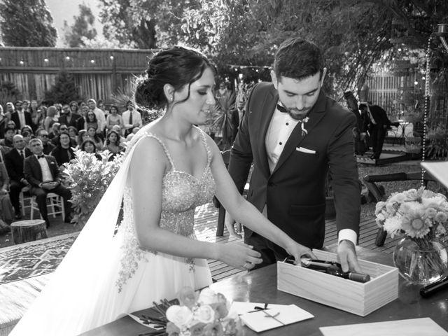 El matrimonio de José y Constanza en San José de Maipo, Cordillera 34