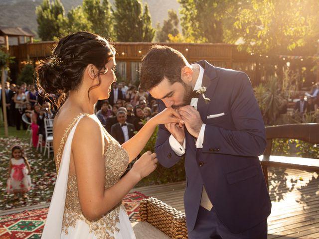 El matrimonio de José y Constanza en San José de Maipo, Cordillera 42