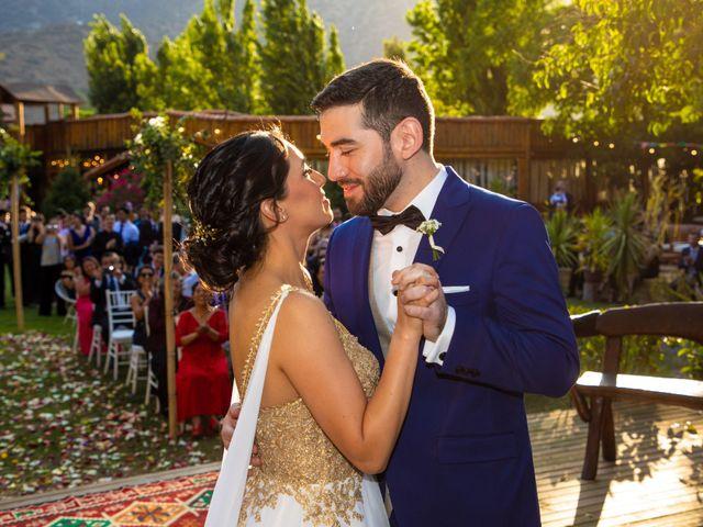 El matrimonio de José y Constanza en San José de Maipo, Cordillera 46