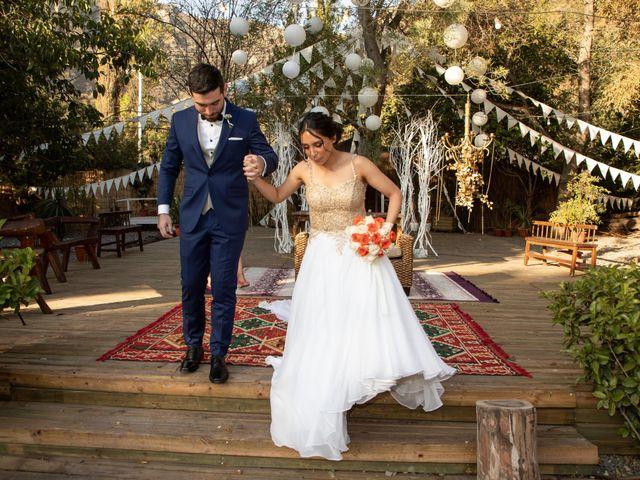 El matrimonio de José y Constanza en San José de Maipo, Cordillera 47