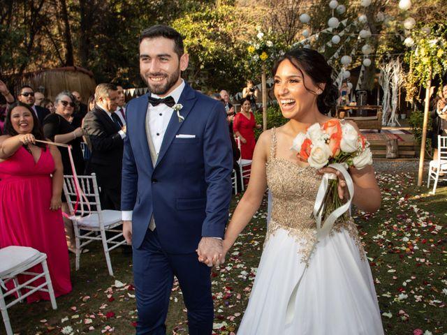 El matrimonio de José y Constanza en San José de Maipo, Cordillera 48