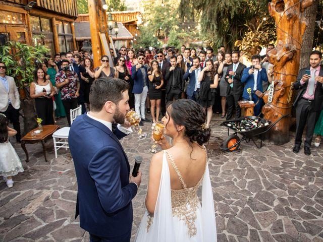 El matrimonio de José y Constanza en San José de Maipo, Cordillera 53