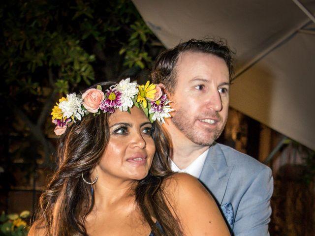 El matrimonio de Jocy Fairburn y Gareth