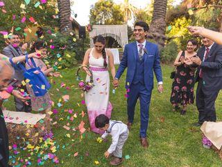 El matrimonio de Sebastián y Rocío 1