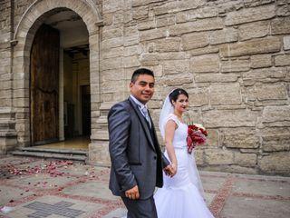 El matrimonio de Dominique y Óscar