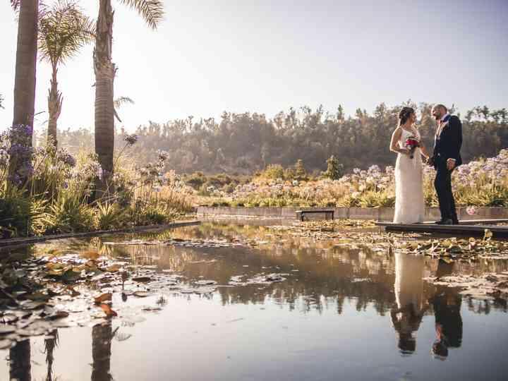El matrimonio de Yasna y Allan