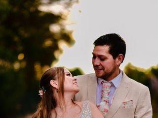 El matrimonio de Estefanía y Diego