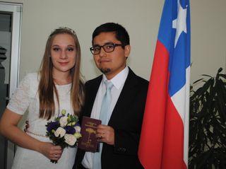 El matrimonio de Álvaro y Luana
