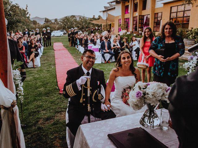 El matrimonio de Claudia y Christian