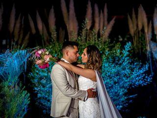 El matrimonio de Camila y John