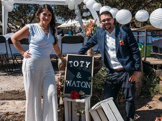 El matrimonio de Toty y Cristian  1