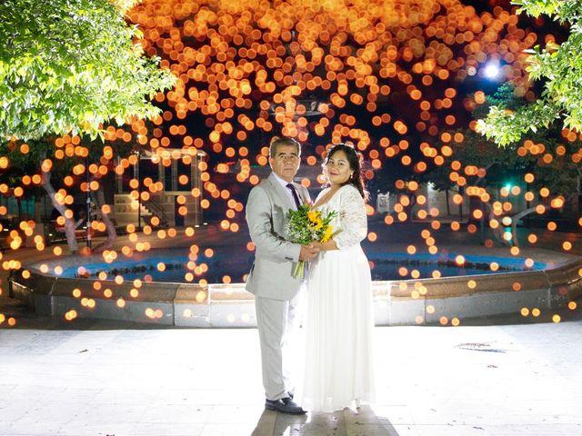 El matrimonio de Katherin y Rolando