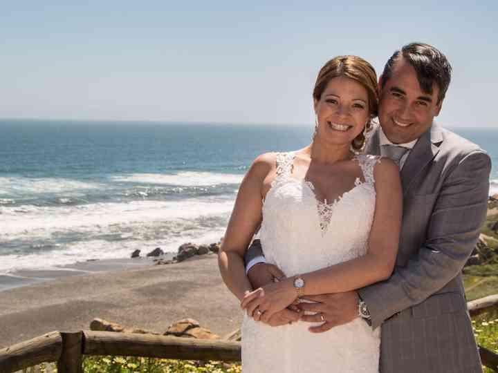 El matrimonio de María Paz y Sergio